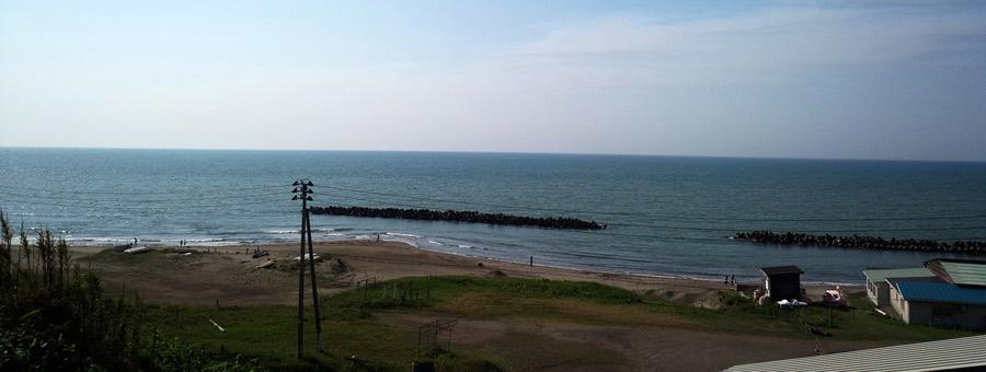 居多ケ浜の風景
